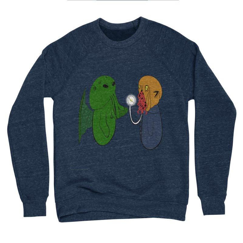 Cthulhu Meets Ood Men's Sponge Fleece Sweatshirt by Every Drop's An Idea's Artist Shop