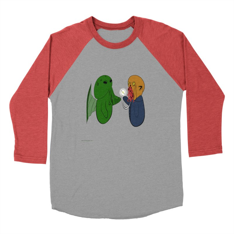 Cthulhu Meets Ood Men's Longsleeve T-Shirt by Every Drop's An Idea's Artist Shop