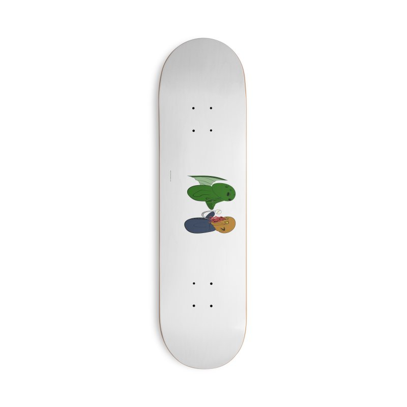 Cthulhu Meets Ood Accessories Skateboard by Every Drop's An Idea's Artist Shop