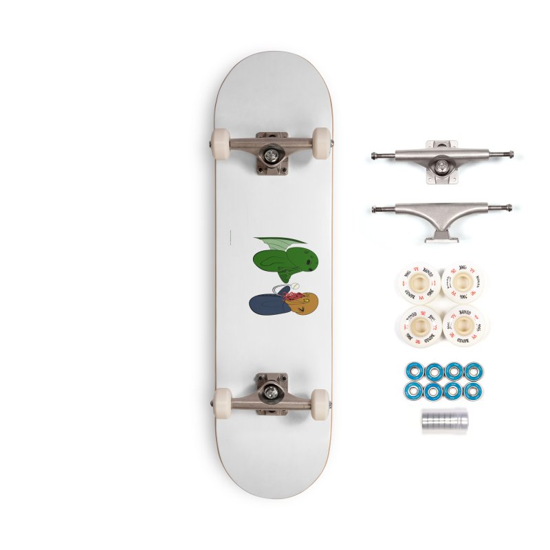 Cthulhu Meets Ood Accessories Complete - Premium Skateboard by Every Drop's An Idea's Artist Shop