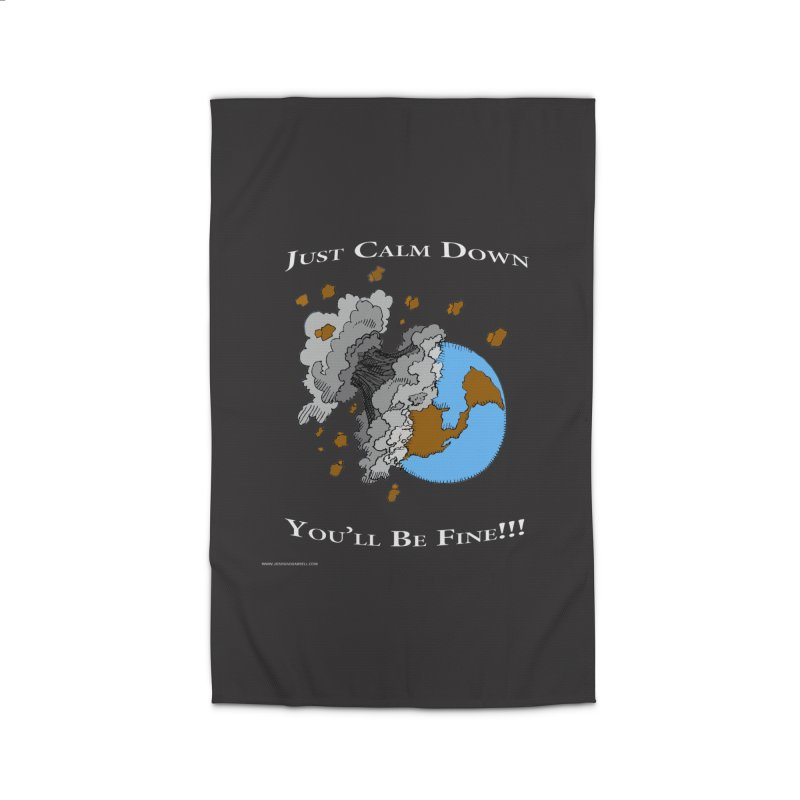 Just Calm Down Home Rug by Every Drop's An Idea's Artist Shop