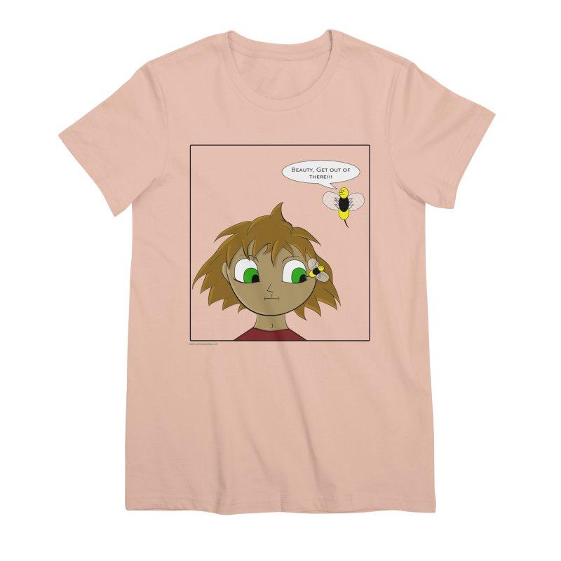 Eye of The Beholder Women's Premium T-Shirt by Every Drop's An Idea's Artist Shop