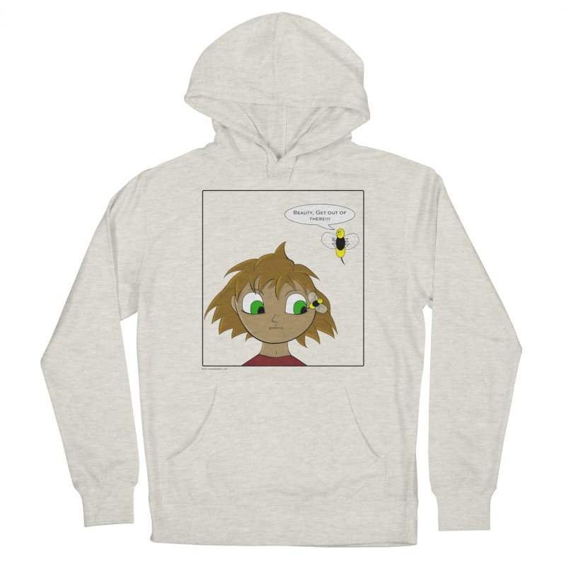 Eye of The Beholder Women's French Terry Pullover Hoody by Every Drop's An Idea's Artist Shop