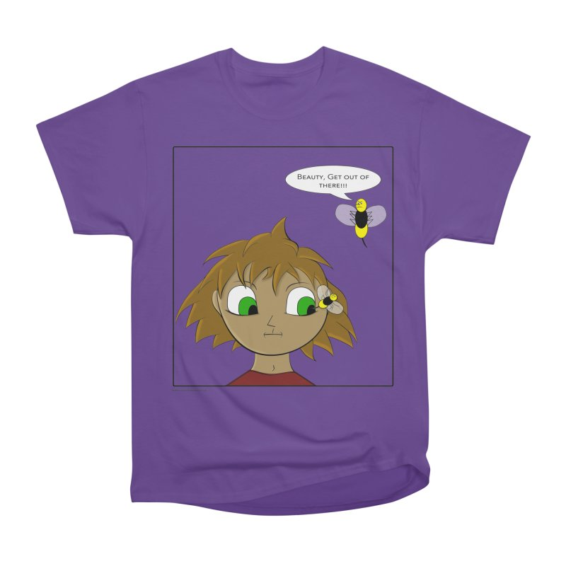 Eye of The Beholder Women's Heavyweight Unisex T-Shirt by Every Drop's An Idea's Artist Shop