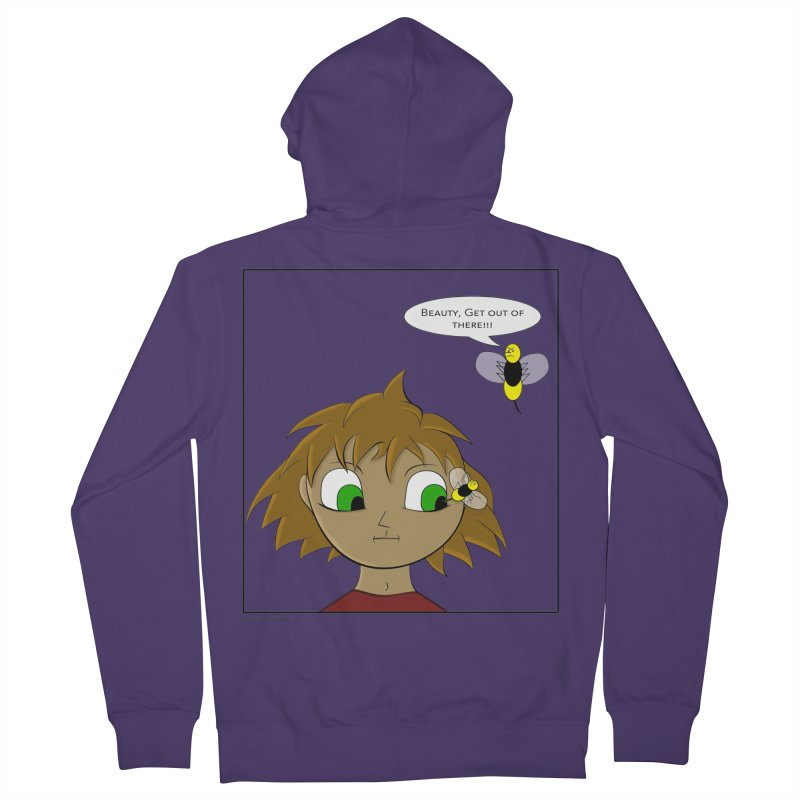 Eye of The Beholder Women's French Terry Zip-Up Hoody by Every Drop's An Idea's Artist Shop
