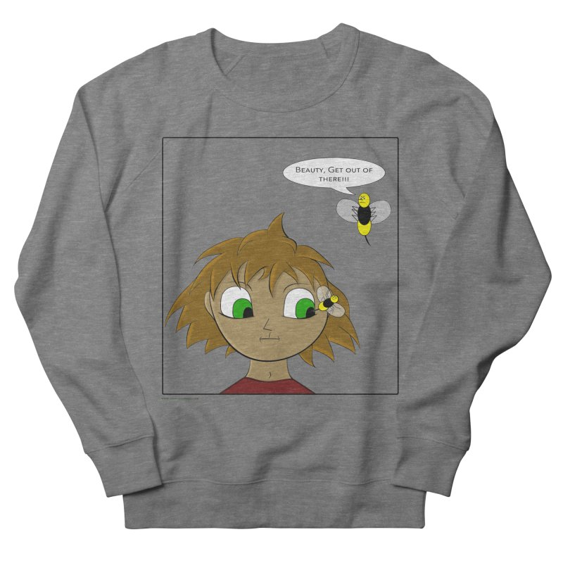 Eye of The Beholder Women's French Terry Sweatshirt by Every Drop's An Idea's Artist Shop