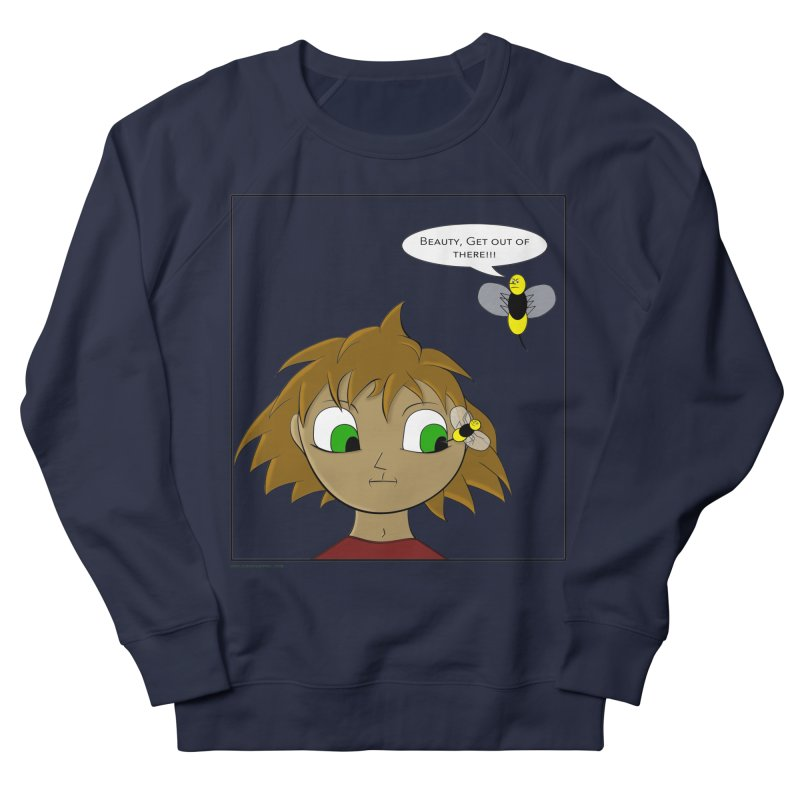 Eye of The Beholder Men's French Terry Sweatshirt by Every Drop's An Idea's Artist Shop
