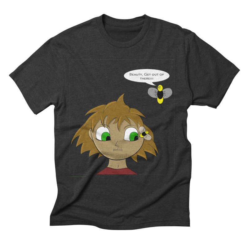 Eye of The Beholder Men's Triblend T-Shirt by Every Drop's An Idea's Artist Shop