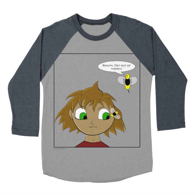 Eye of The Beholder Women's Baseball Triblend Longsleeve T-Shirt by Every Drop's An Idea's Artist Shop