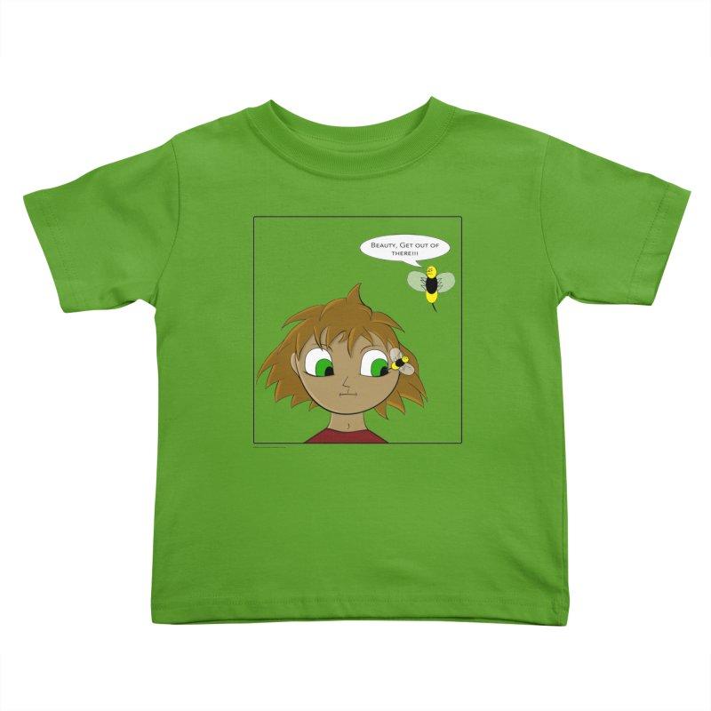 Eye of The Beholder Kids Toddler T-Shirt by Every Drop's An Idea's Artist Shop