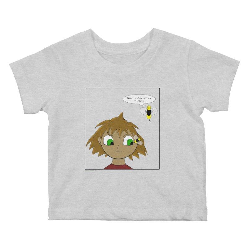 Eye of The Beholder Kids Baby T-Shirt by Every Drop's An Idea's Artist Shop