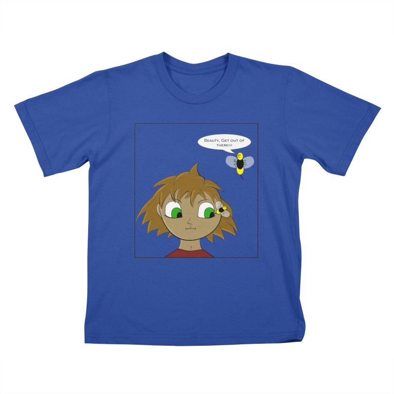Eye of The Beholder Kids T-Shirt by Every Drop's An Idea's Artist Shop