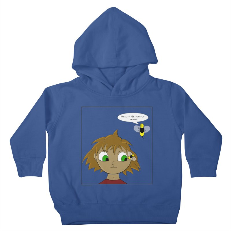 Eye of The Beholder Kids Toddler Pullover Hoody by Every Drop's An Idea's Artist Shop
