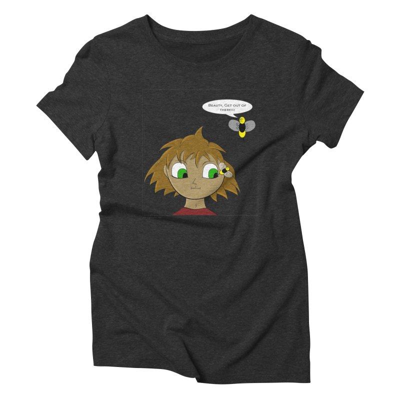 Eye of The Beholder Women's Triblend T-Shirt by Every Drop's An Idea's Artist Shop