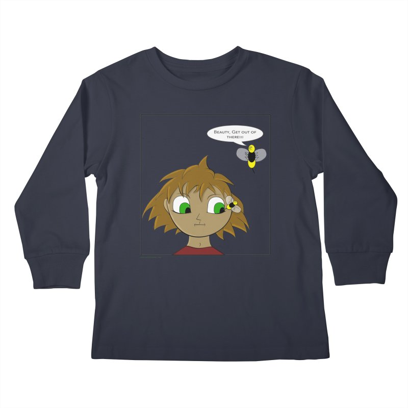 Eye of The Beholder Kids Longsleeve T-Shirt by Every Drop's An Idea's Artist Shop