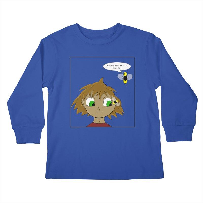 Eye of The Beholder Kids Longsleeve T-Shirt by Every Drop's An Idea's Artist Shop