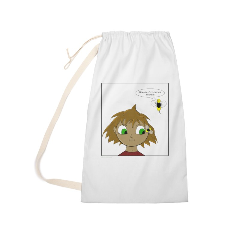 Eye of The Beholder Accessories Laundry Bag Bag by Every Drop's An Idea's Artist Shop