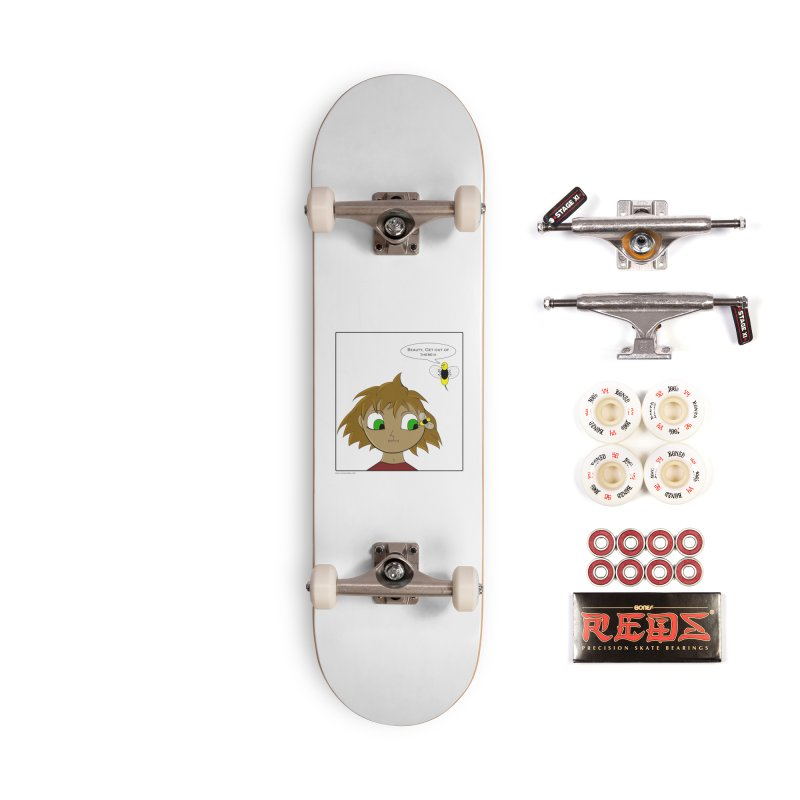 Eye of The Beholder Accessories Complete - Pro Skateboard by Every Drop's An Idea's Artist Shop