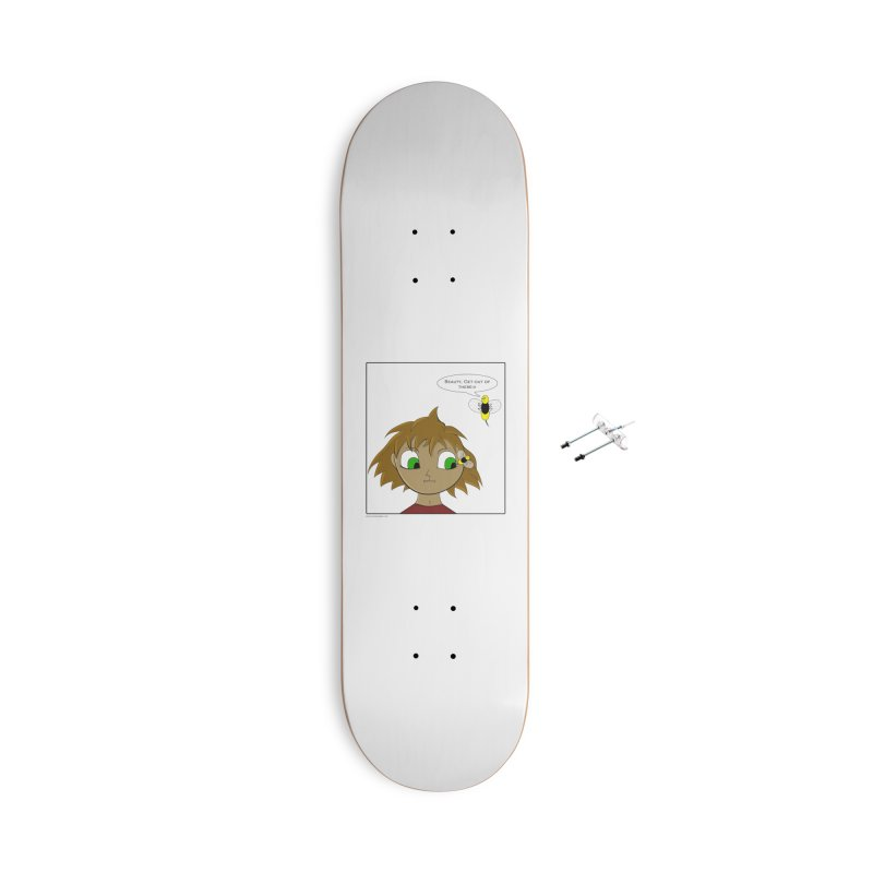 Eye of The Beholder Accessories With Hanging Hardware Skateboard by Every Drop's An Idea's Artist Shop