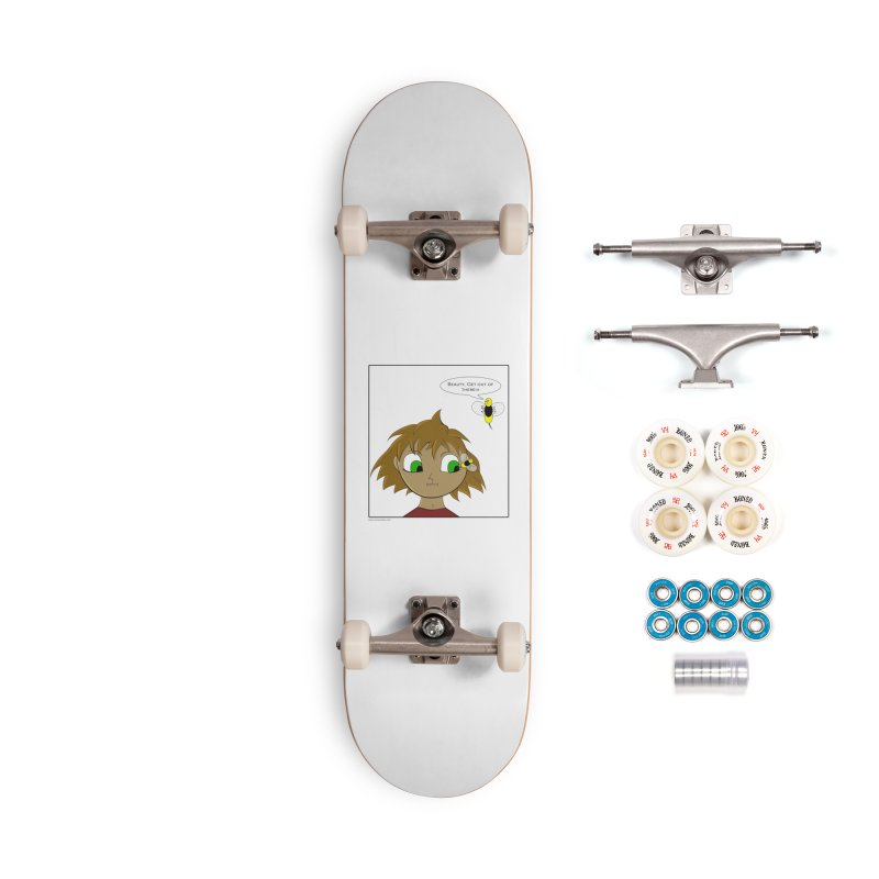 Eye of The Beholder Accessories Complete - Premium Skateboard by Every Drop's An Idea's Artist Shop