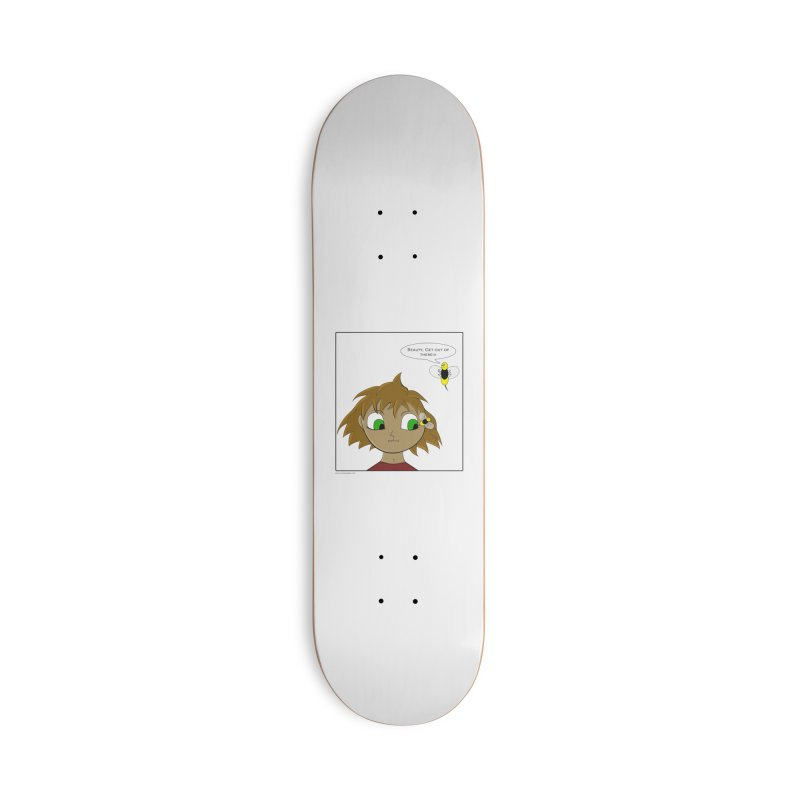 Eye of The Beholder Accessories Deck Only Skateboard by Every Drop's An Idea's Artist Shop