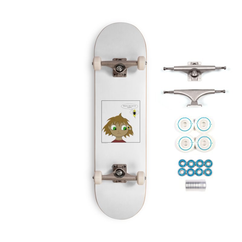 Eye of The Beholder Accessories Skateboard by Every Drop's An Idea's Artist Shop
