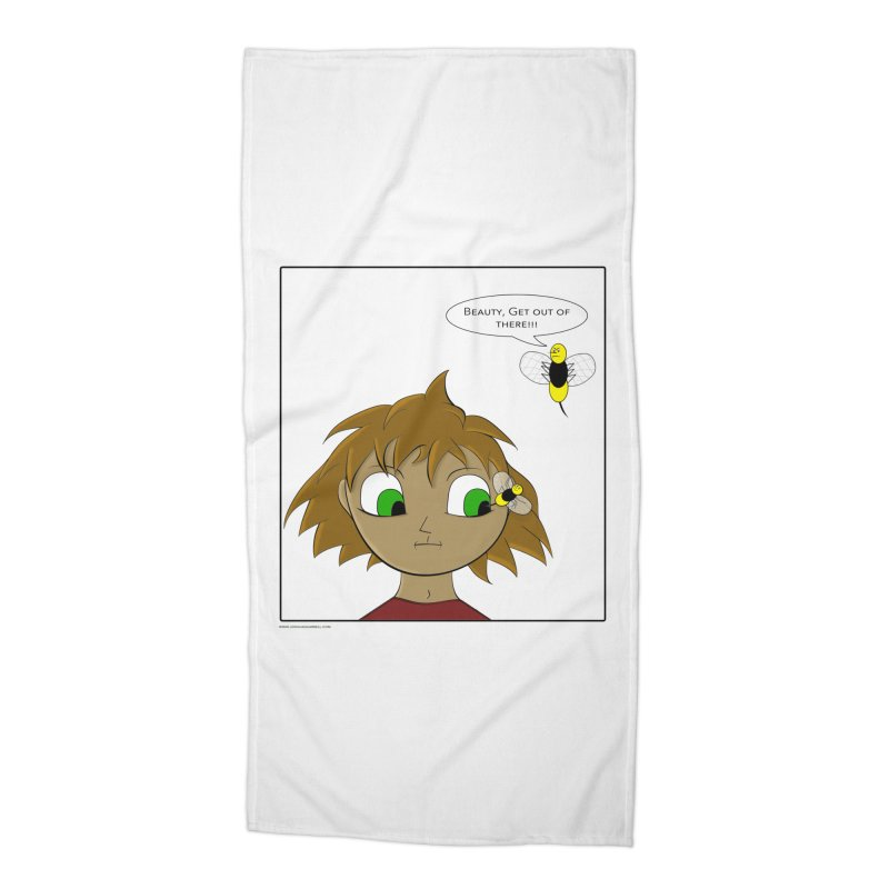 Eye of The Beholder Accessories Beach Towel by Every Drop's An Idea's Artist Shop