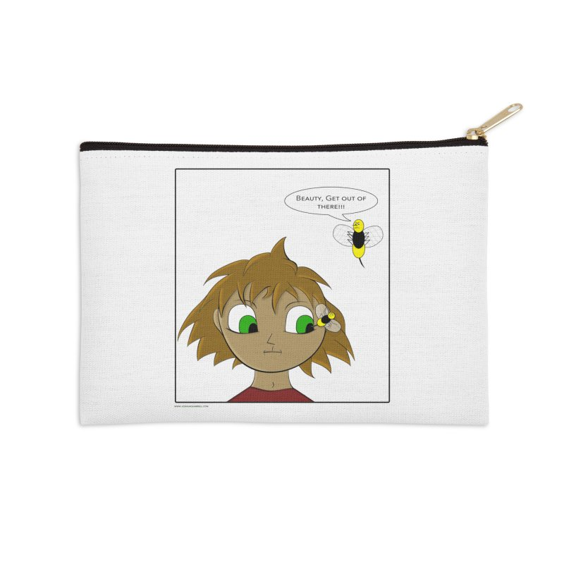 Eye of The Beholder Accessories Zip Pouch by Every Drop's An Idea's Artist Shop