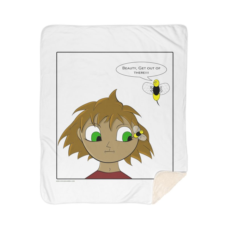 Eye of The Beholder Home Blanket by Every Drop's An Idea's Artist Shop