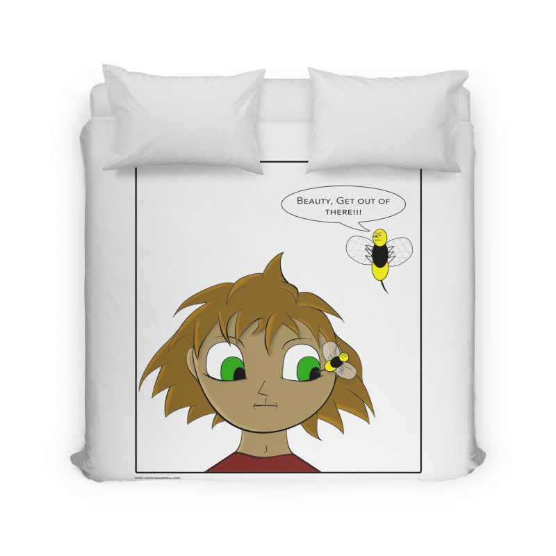Eye of The Beholder Home and Office Duvet by Every Drop's An Idea's Artist Shop