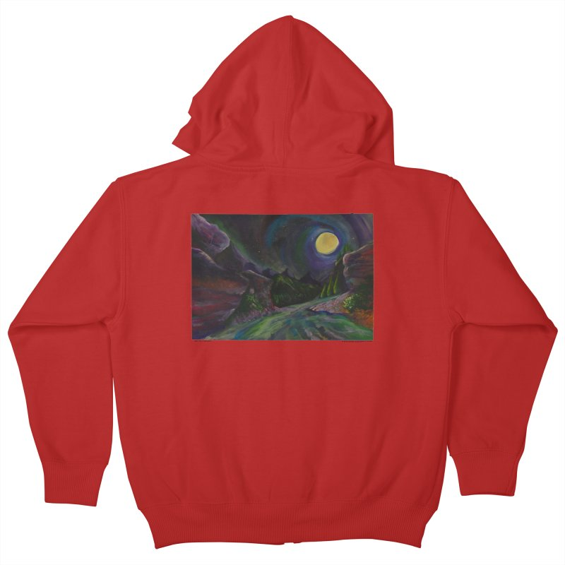 But Only In A Dream Kids Zip-Up Hoody by Every Drop's An Idea's Artist Shop