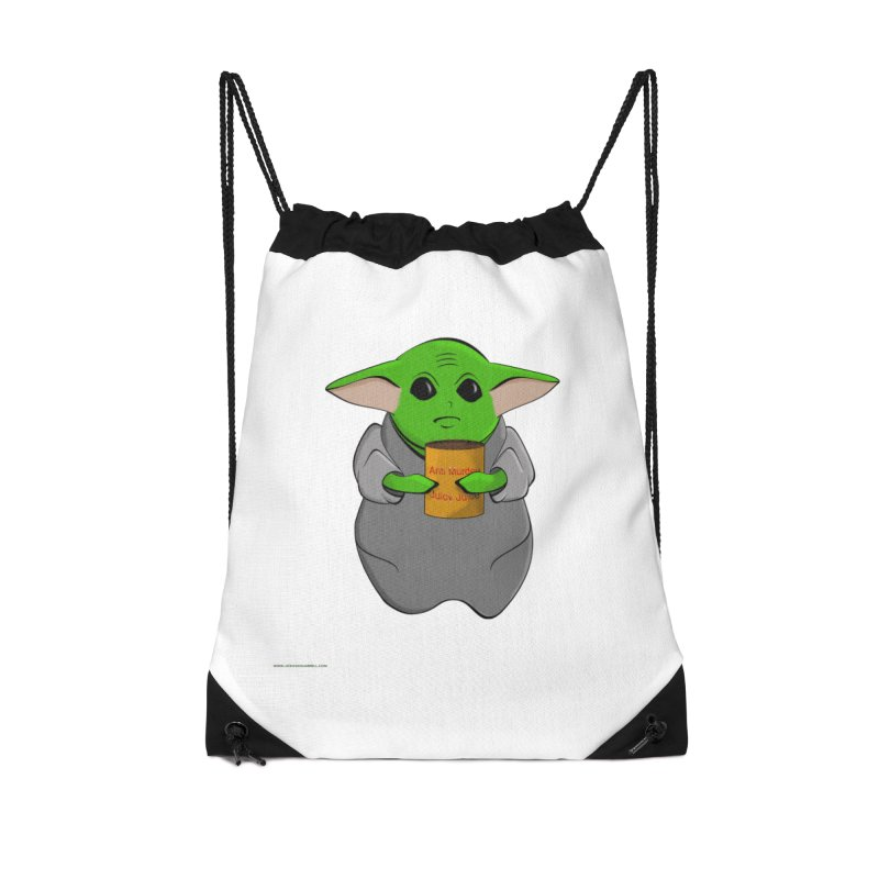 Anti-Murder Juicy Accessories Drawstring Bag Bag by Every Drop's An Idea's Artist Shop