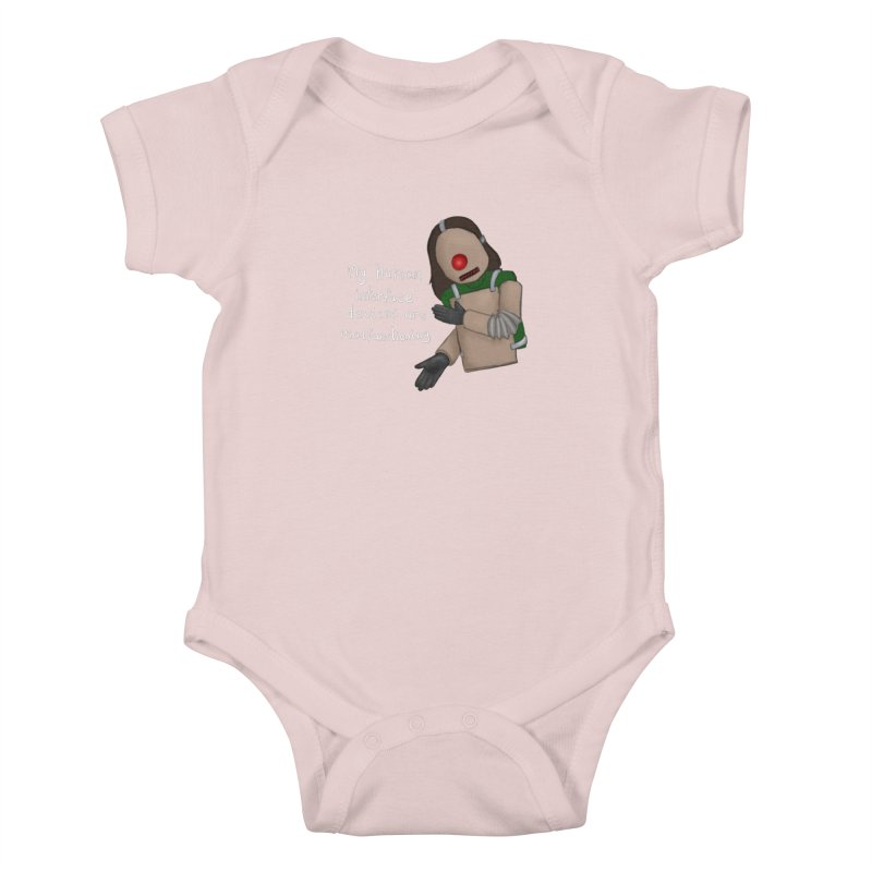 My Human Interface Devices Are Malfunctioning Kids Baby Bodysuit by Every Drop's An Idea's Artist Shop
