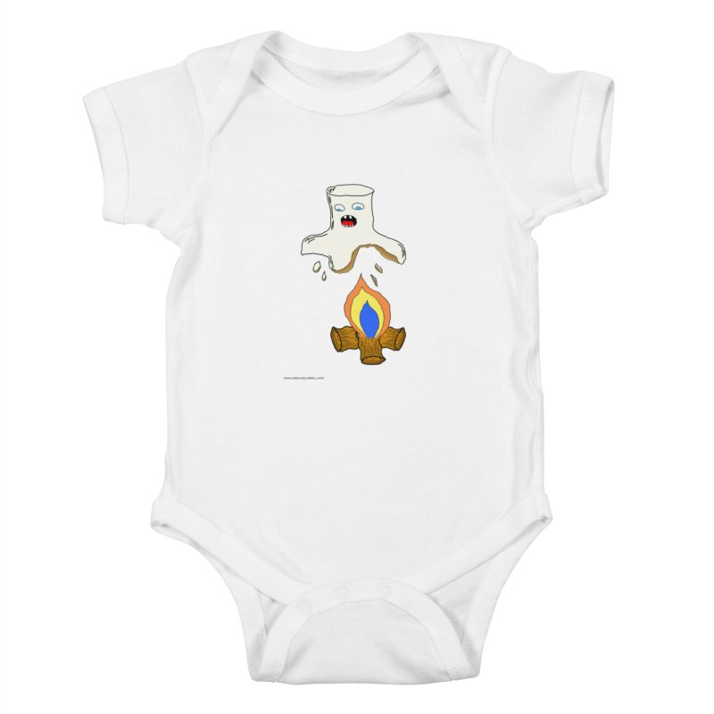 You're Marshing My Mallow Kids Baby Bodysuit by Every Drop's An Idea's Artist Shop