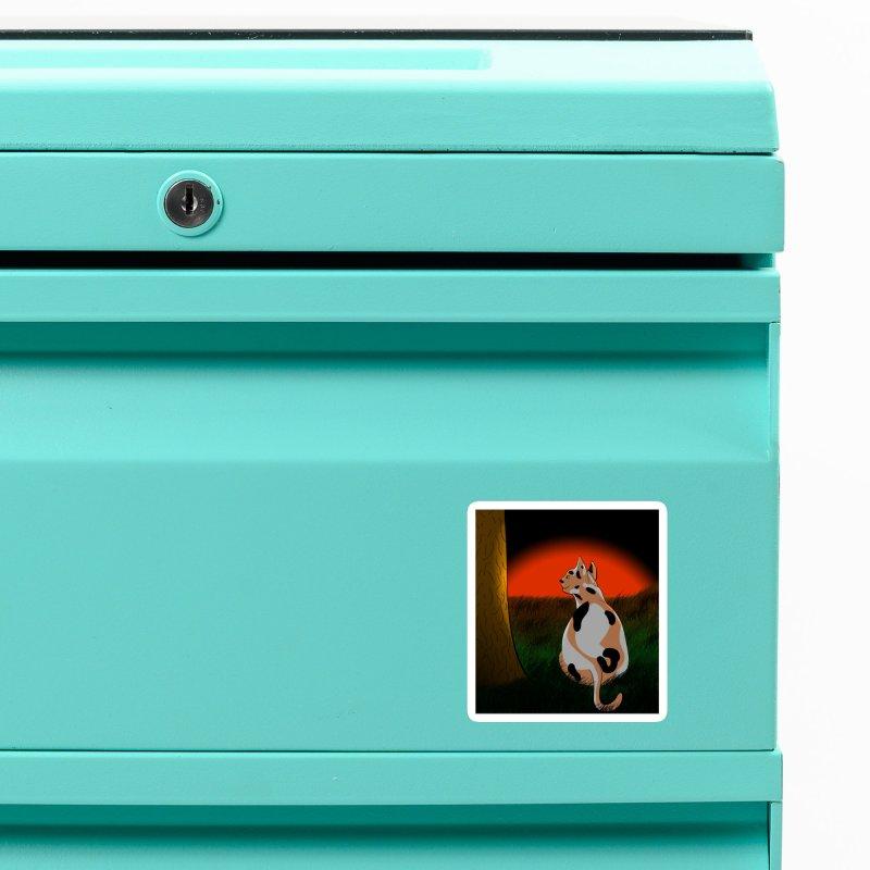 QuaranKitty Accessories Magnet by Every Drop's An Idea's Artist Shop