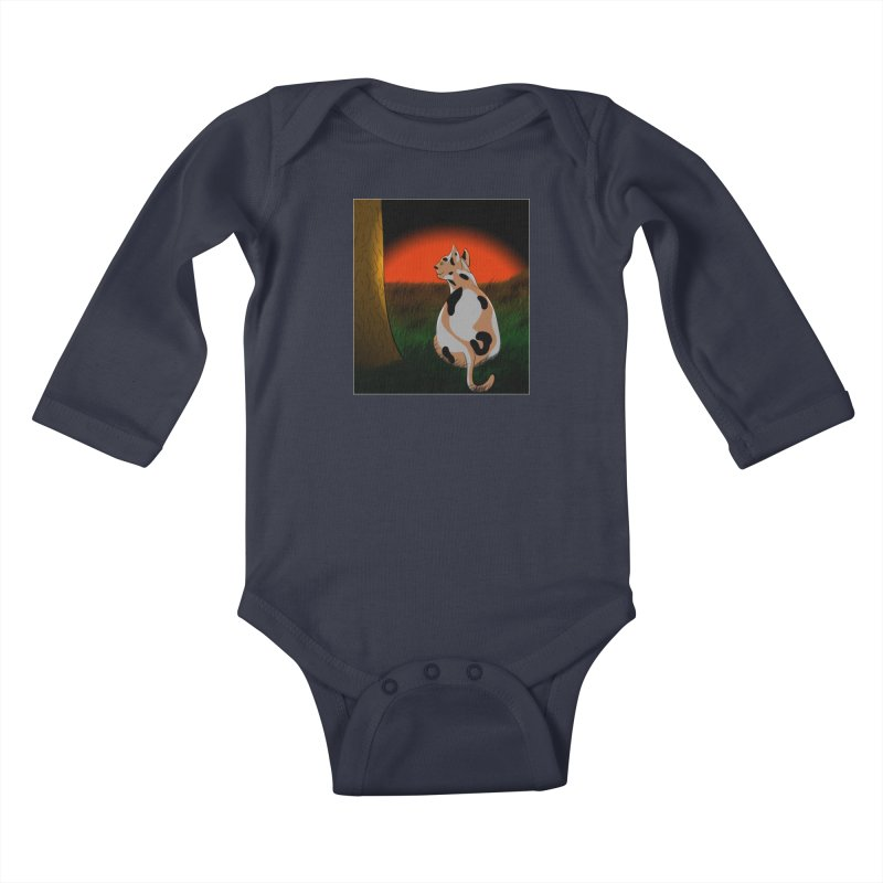 QuaranKitty Kids Baby Longsleeve Bodysuit by Every Drop's An Idea's Artist Shop