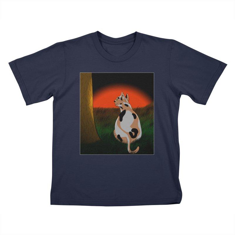QuaranKitty Kids T-Shirt by Every Drop's An Idea's Artist Shop