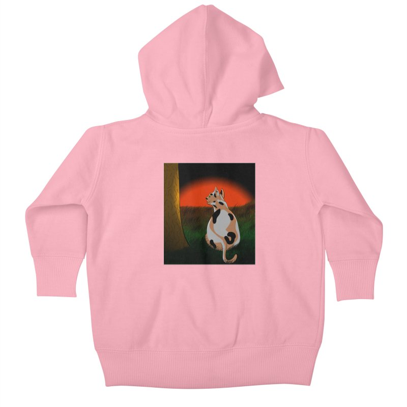 QuaranKitty Kids Baby Zip-Up Hoody by Every Drop's An Idea's Artist Shop