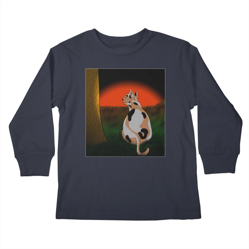 QuaranKitty Kids Longsleeve T-Shirt by Every Drop's An Idea's Artist Shop