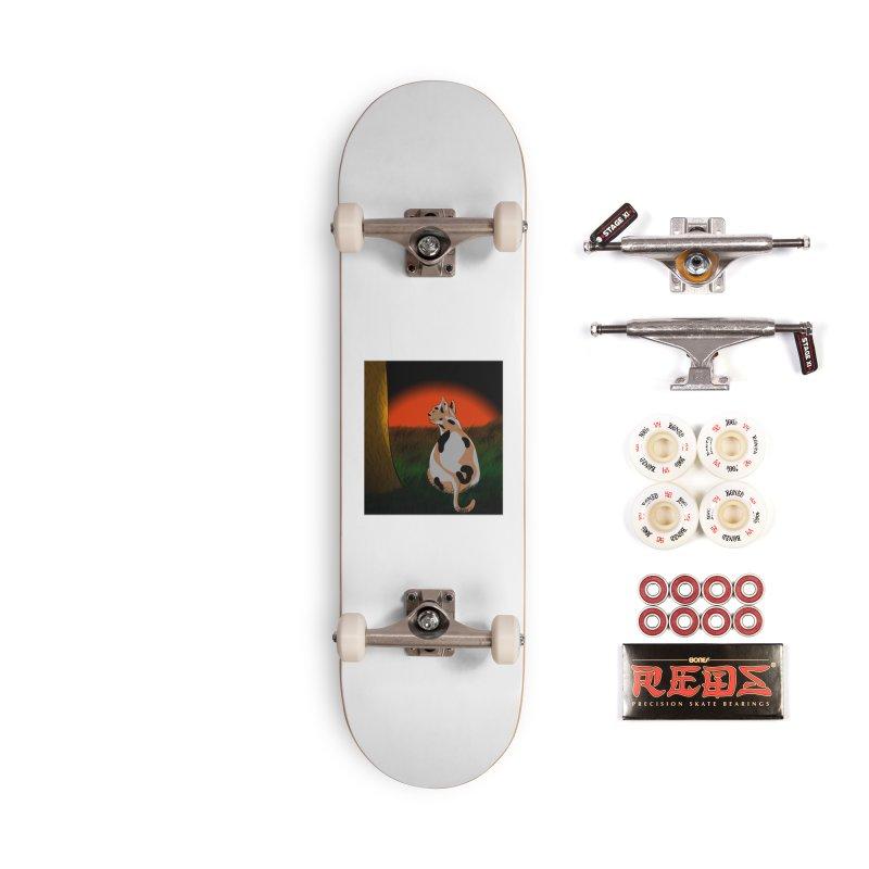QuaranKitty Accessories Skateboard by Every Drop's An Idea's Artist Shop