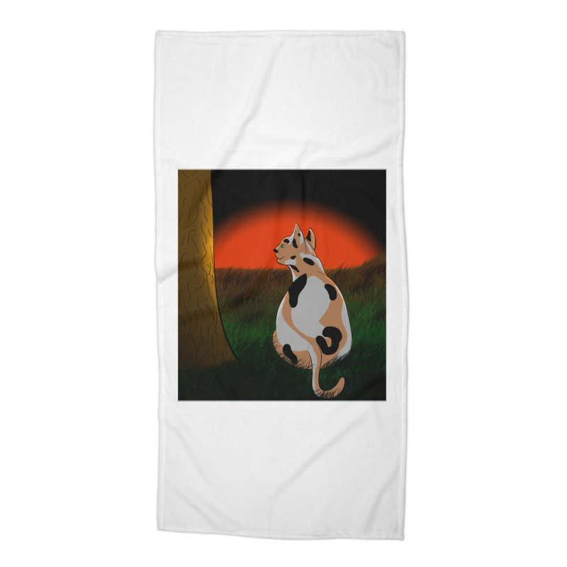 QuaranKitty Accessories Beach Towel by Every Drop's An Idea's Artist Shop