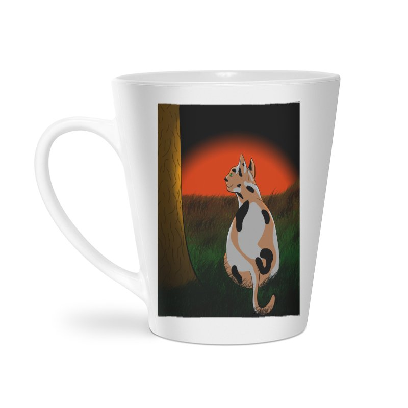 QuaranKitty Accessories Latte Mug by Every Drop's An Idea's Artist Shop