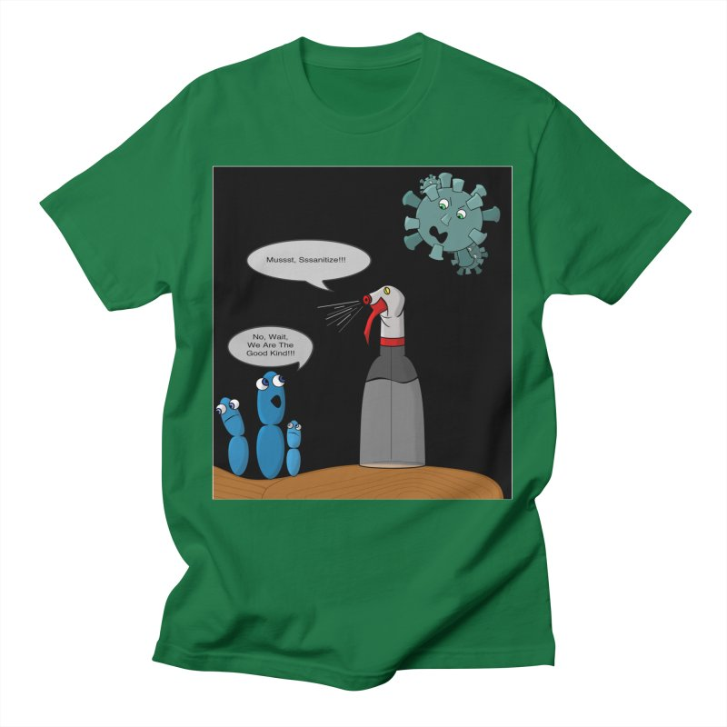 I'm Good Bacteria All Genders T-Shirt by Every Drop's An Idea's Artist Shop