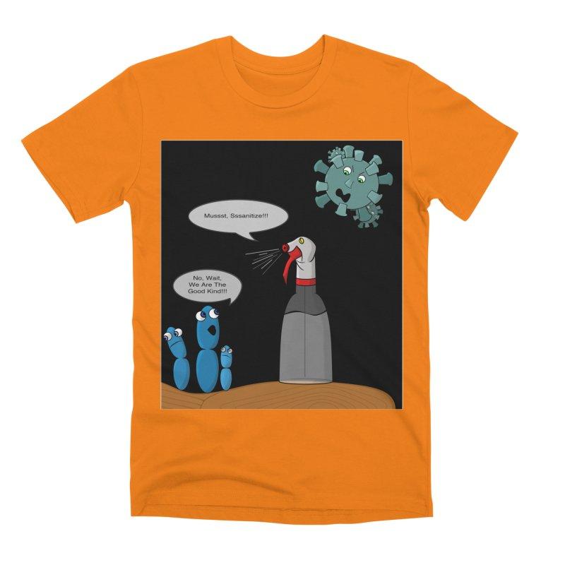 I'm Good Bacteria Men's T-Shirt by Every Drop's An Idea's Artist Shop