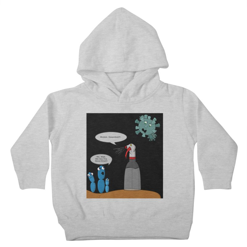I'm Good Bacteria Kids Toddler Pullover Hoody by Every Drop's An Idea's Artist Shop