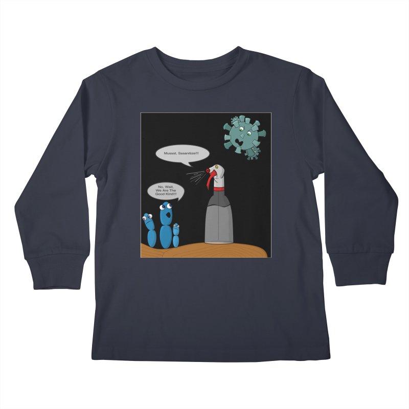I'm Good Bacteria Kids Longsleeve T-Shirt by Every Drop's An Idea's Artist Shop