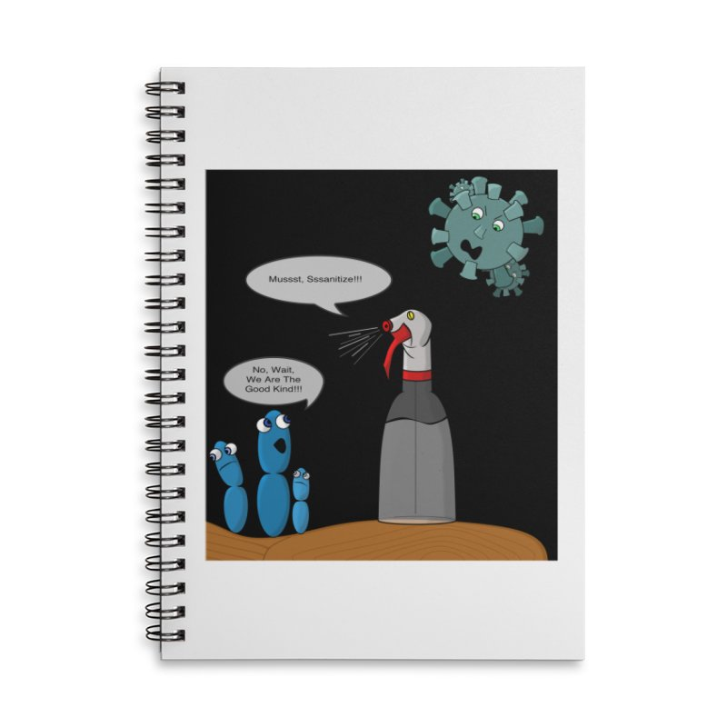 I'm Good Bacteria Accessories Notebook by Every Drop's An Idea's Artist Shop