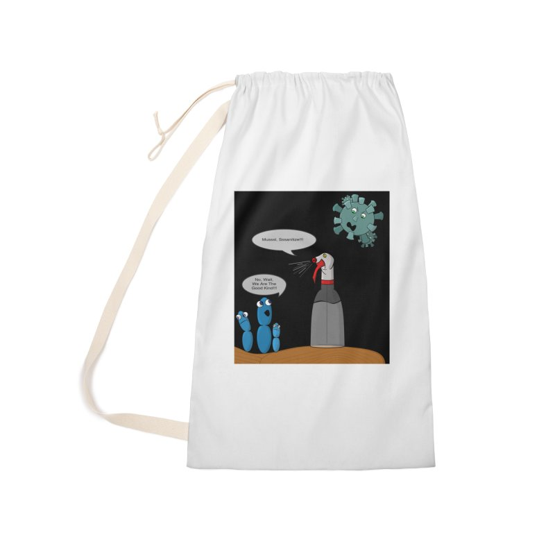 I'm Good Bacteria Accessories Bag by Every Drop's An Idea's Artist Shop