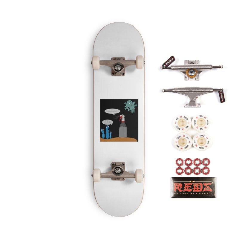 I'm Good Bacteria Accessories Skateboard by Every Drop's An Idea's Artist Shop
