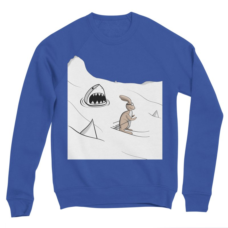 Snow Bunny Women's Sweatshirt by Every Drop's An Idea's Artist Shop